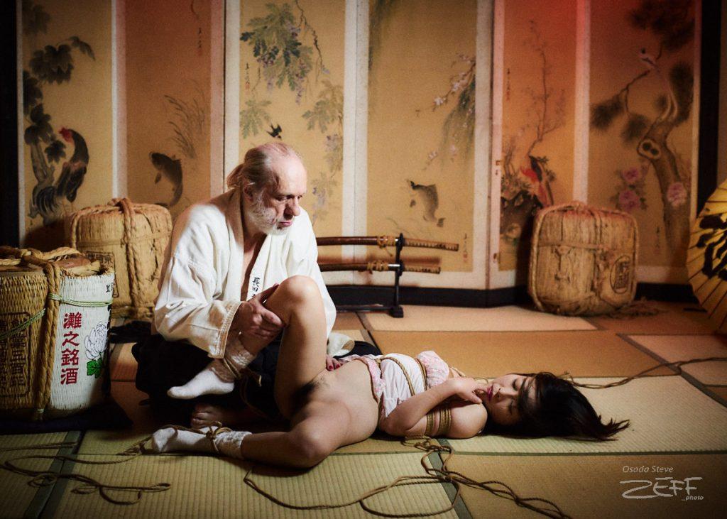 Sumisu & Steve on floor